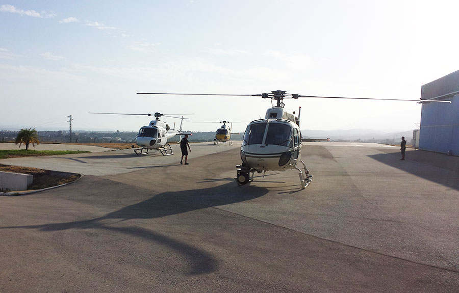 Helicopter Pilot Training in Spain World Aviation ATO – Full