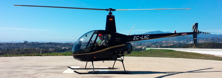 Helicopter Service Marbella