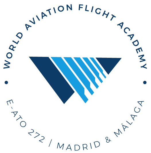 Logo World Aviation Flight Academy Circular