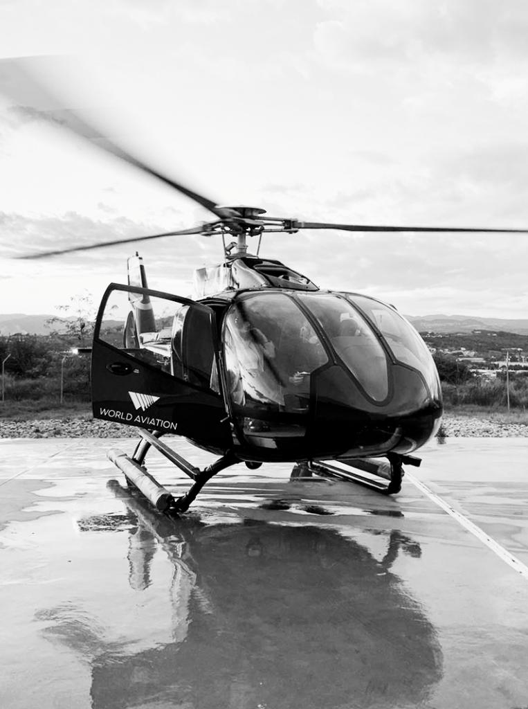 Acumulación de Horas en Helicóptero