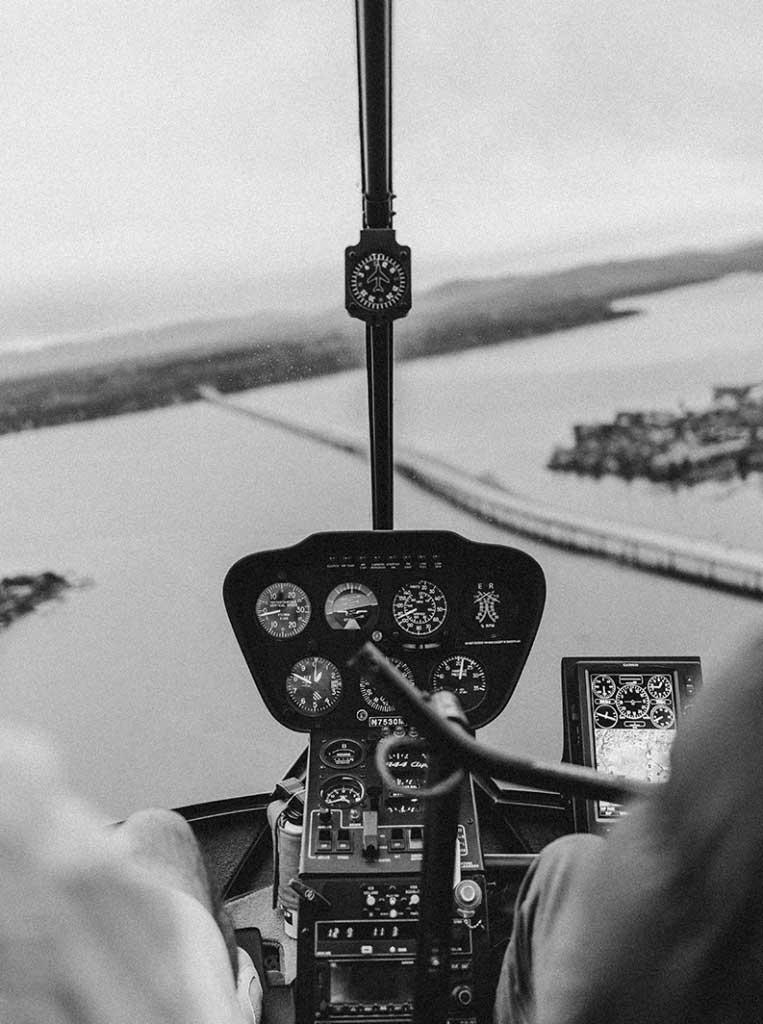 Bautismo de Vuelo en Helicóptero o Avión