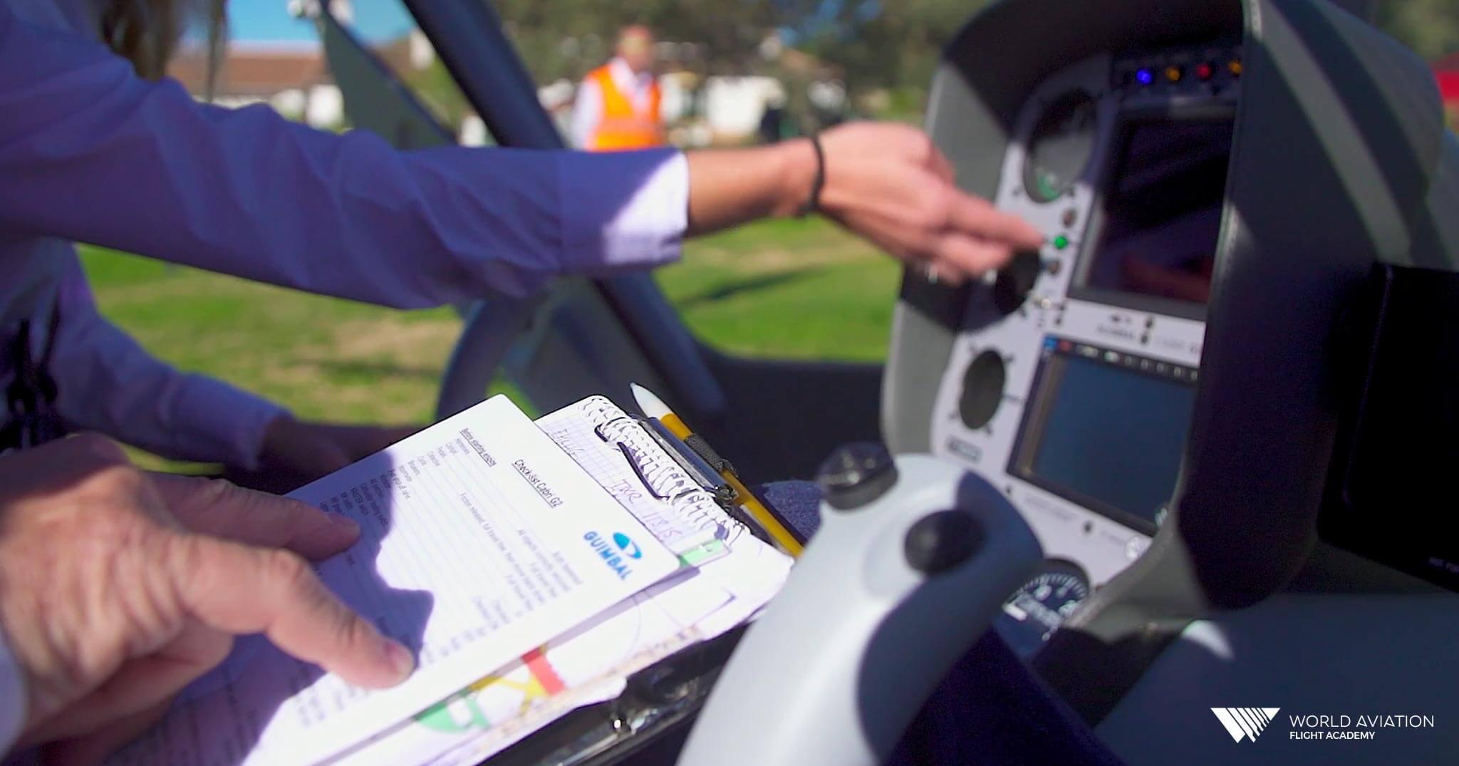 Prácticas de Piloto de Helicópero World Aviation